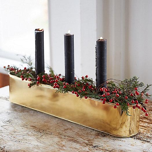 View larger image of Holiday Pot et Fleur Centerpieces