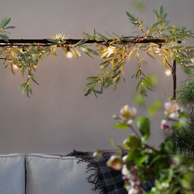 Shop the Look: A Green + Glowing Indoor Canopy