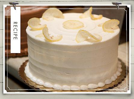 recipe of the week baked lemon drop cake sale house home at terrain