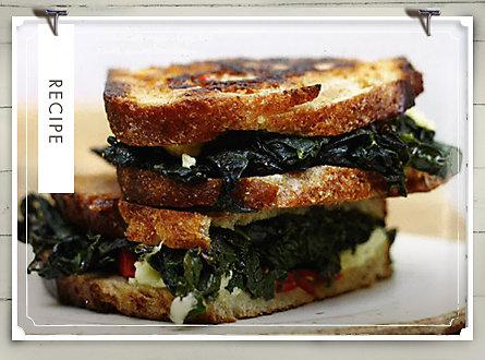 Recipe of the Week: Kale Panini