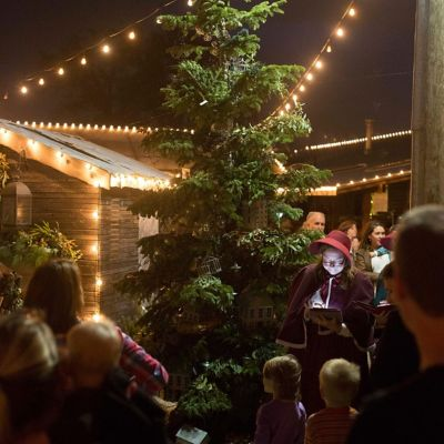 Christmas Tree Lighting on the Terrace