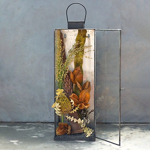 View larger image of Shop the Look: Autumn Sunset Planted Lantern