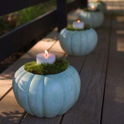 Shop the Look: Ceramic Pumpkin Lanterns