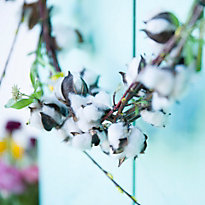 How-To: Spring Cotton Wreath