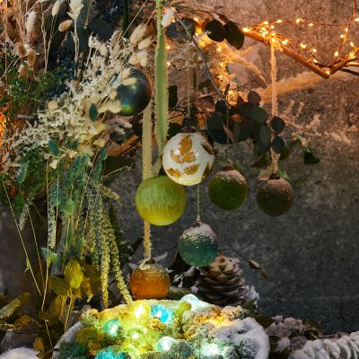 Shop the Look: Winter's First Frost Tree Trimming Idea