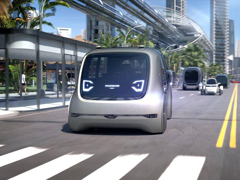 Electric VW concept car SEDRIC