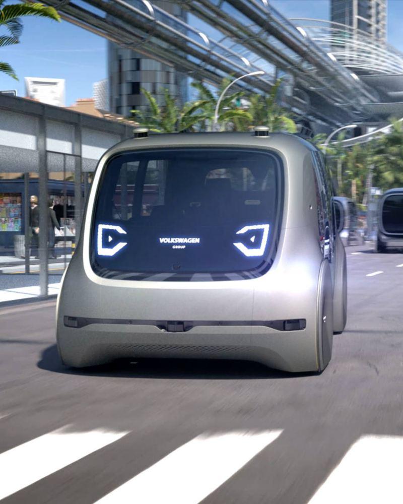 Auto eléctrico conceptual VW SEDRIC