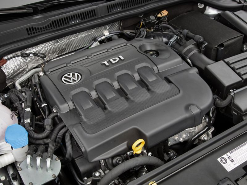 Under the hood of a VW TDI