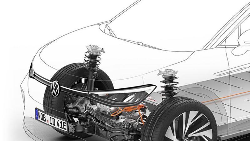 Volkswagen Modular electric drive matrix (MEB) platform