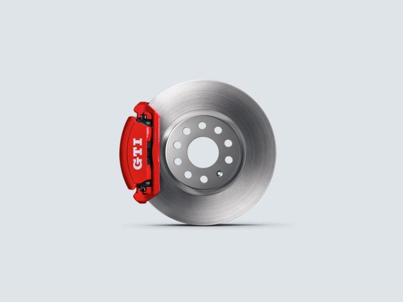 GTI Performance Breaks with red calipers