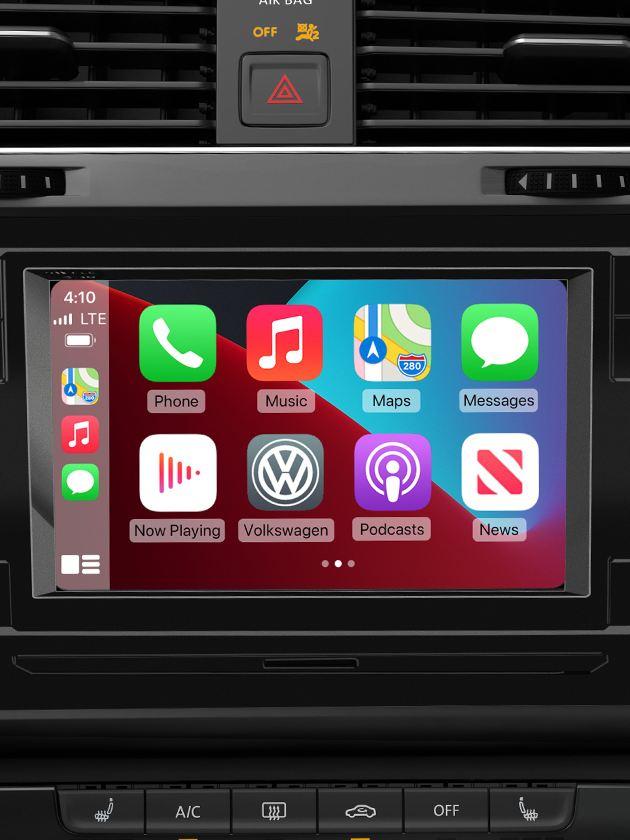 High-resolution touchscreen sound system.