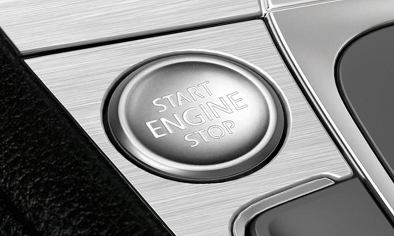 Push-button start.