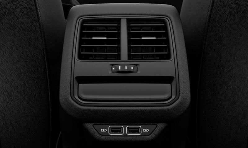 Rear airvents