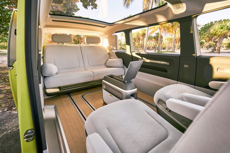 ID.BUZZ concept vehicle interior view